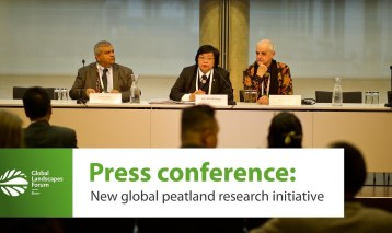 Press conference: New global peatland research initiative