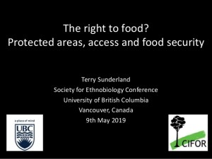 The right to food? Protected areas, access and food security