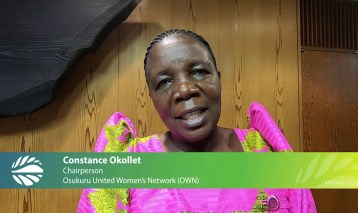 Constance Okollet – short interview at GLF Kyoto 2019