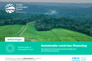 Sustainable Land-Use Financing – White paper