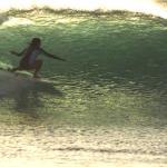 Blue belles: The surfer and the scuba diver