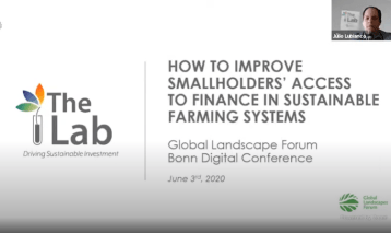 Q&A Session: How to improve smallholders' access to finance in sustainable farming systems?