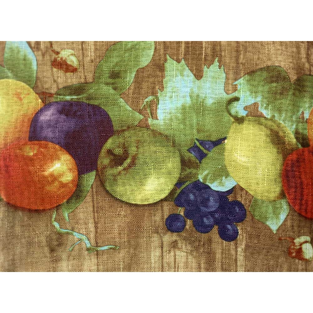 fruit kitchen curtains best quality faucets mixed fruits curtain