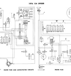 1983 fiat 124 electrical schematic wiring diagram todays wiring diagram fiat 124 spider simple wiring diagram [ 1968 x 1381 Pixel ]