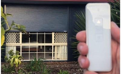 Outdoor roller shutters