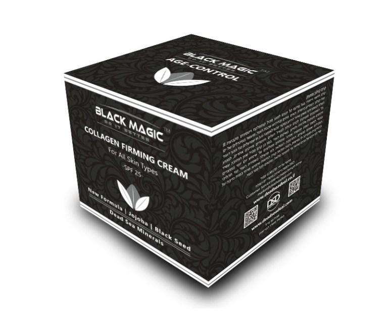 BLACK MAGIC box COLLAGEN FIRMING CREAM
