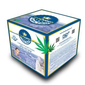 SEA QUEEN collagen facial cream box