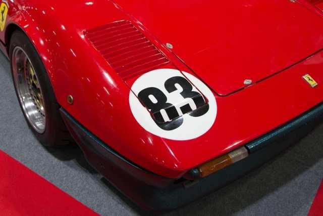 Classic Race Car Ferrari