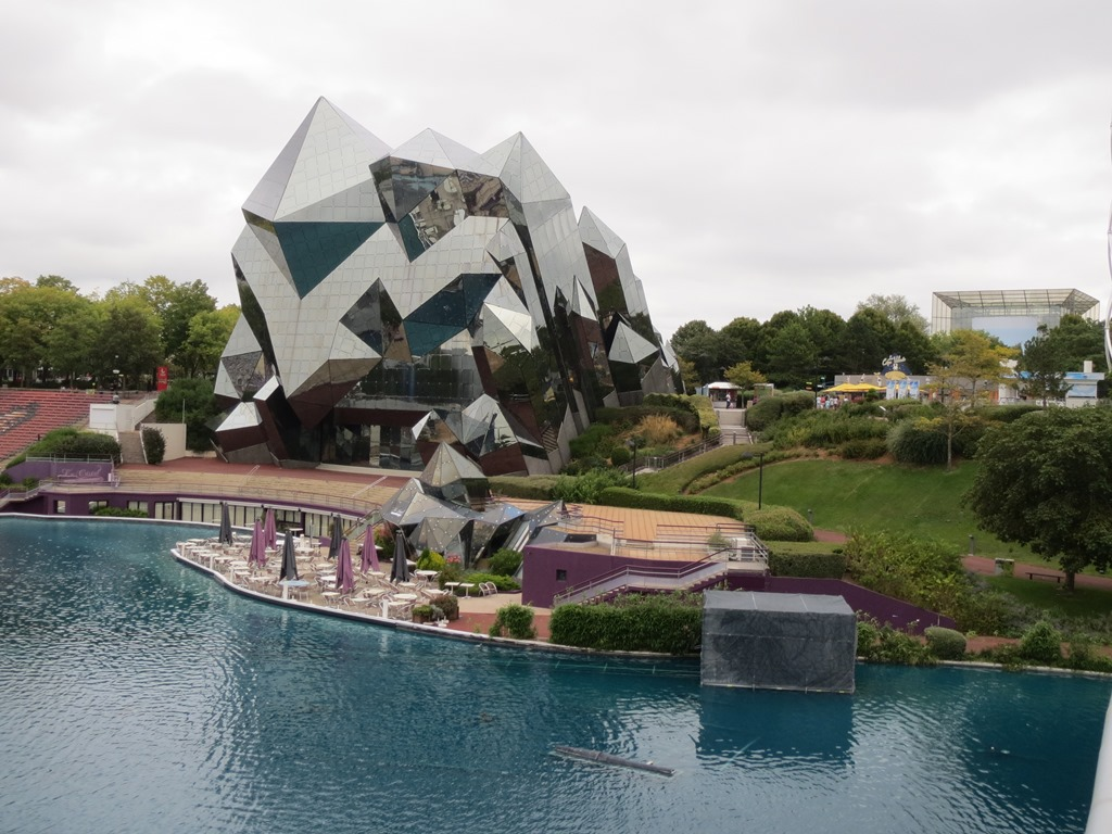 Futuroscope Poitiers France Review Back To The