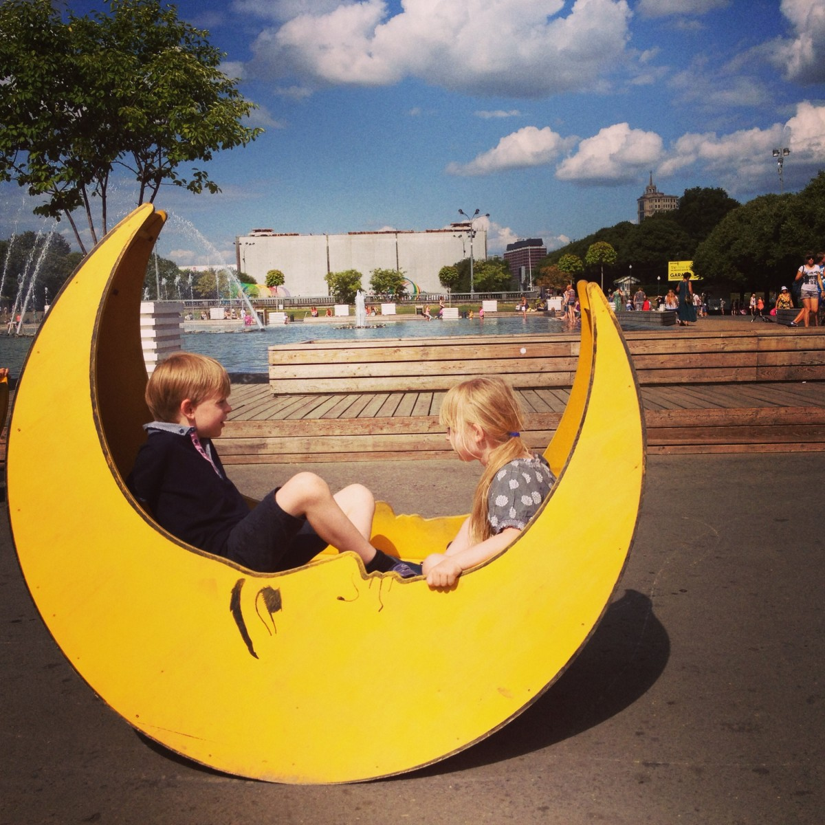 Where to reduce a child in Moscow at the weekend 52