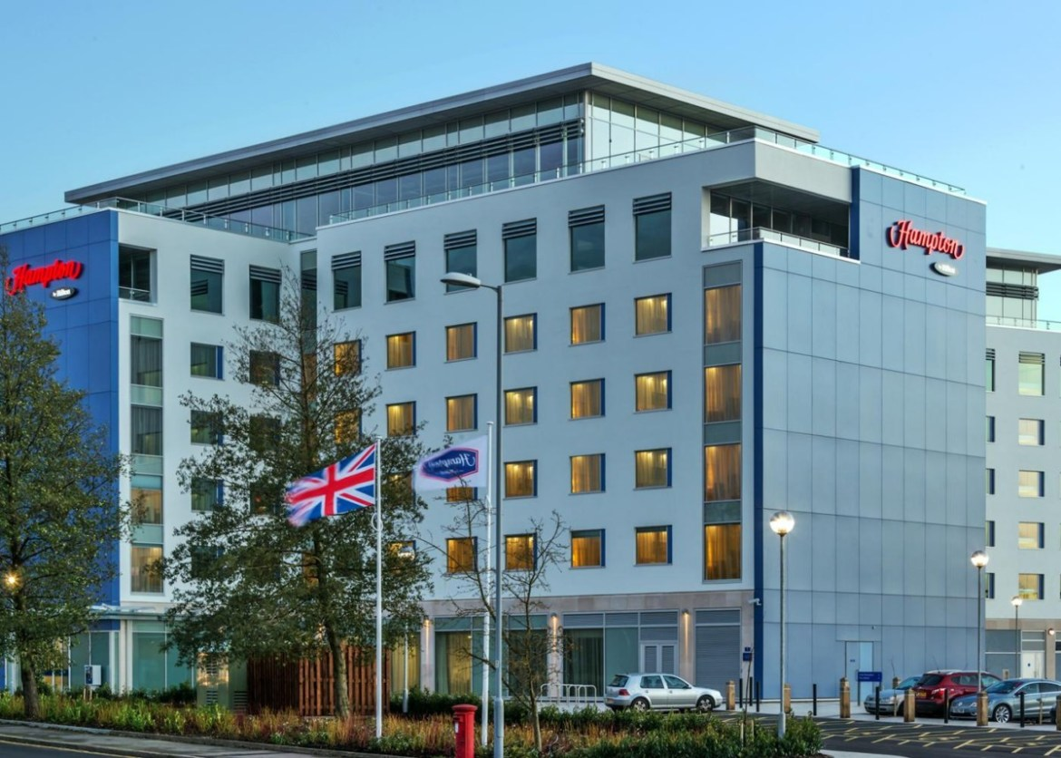 A Family Stay And Parking At Hampton By Hilton Luton Airport