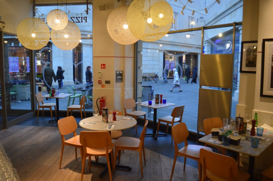 Winter Delights At Pizza Express Southgate Centre Bath