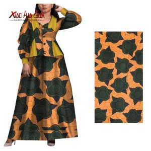 6 Yards African Print Fabric High Quality