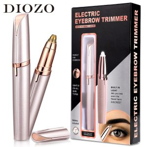 DIOZO Electric Eyebrow Trimmer Painless