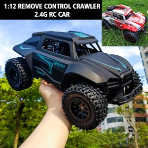 1:12 RC Car Remote Control Vehicle High Speed Tracer 2.4GHZ Electric RC Cars Toys Monster Truck Buggy Off-Road Toys Kids Gifts