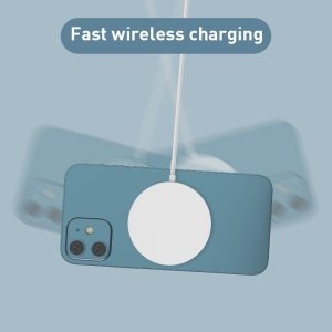 15W Qi Magnetic Wireless Charger For IPhone 12 11 Pro Max Mini XS 8 Magsafe PD Fast Charging Pad Phone For Samsung Xiaomi Huawei