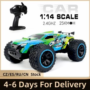 KY-2011A 1/14 305mm 2.4G 2WD RC Car Big Foot RC Crawler RC Off-road Car High Speed Lightweight RC Toys for Kids Adults RTR
