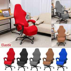 Office Chair Cover Spandex Seat Cover for Computer Chair Cover Slipcover for Armchair Cover Dining Office Chair Case