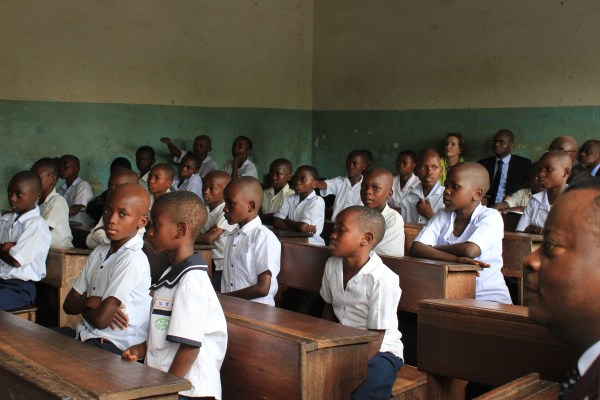 In Dr Congo Engagement Improved Education