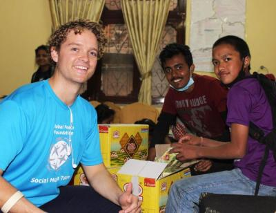 Sam Johnson and Rise Nepal - Coordination and Packaging