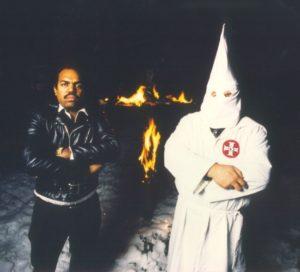 Daryl Davis with Klan member