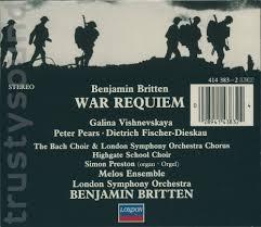 Britten's War Requiem