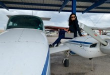 A Nigerian Ex beauty Queen Cynthia Precious Imhansi Jacob Graduates From Riverside Flight Center Tulsa, Oklahoma USA as certified Pilot