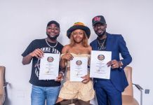DMW And 30BG CEO Davido Officially Signs LIYA As DMW's First Lady