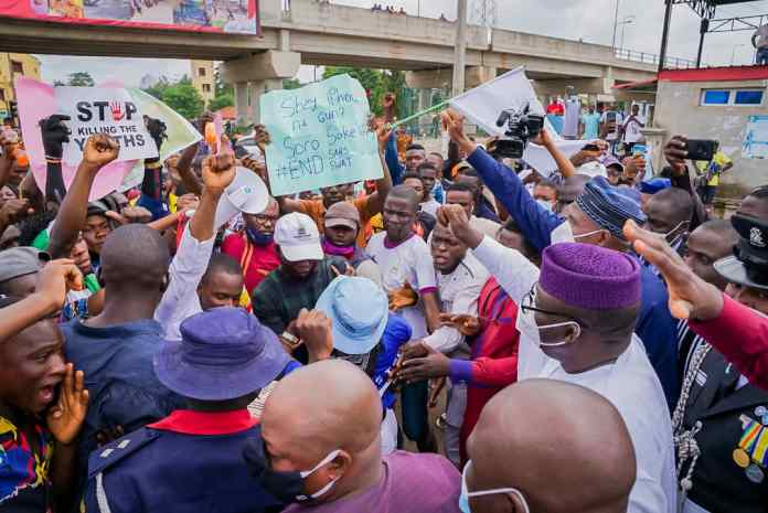 Ekiti State Governor Kayode Fayemi Raises Panel On SARS Brutality And Right Abuses