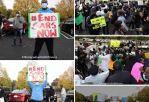 EndSARS Protest In Michigan USA