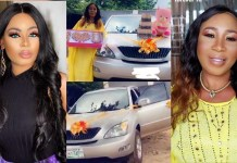 Ex bbnaija Housemate Nina Onyenobi Buys Her Mother A Car On Her 60th Birthday-Watch video