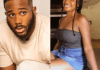 Ex bbnaija housemate Kiddwaya and a family member clashes on Twitter