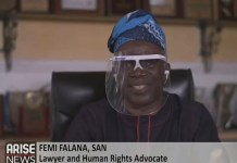 Femi Falana Says ASCAB Has Identified The Barracks Of Soldiers Who Shot Protesters At Lekki Toll Gate