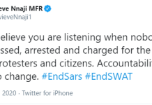 Genevieve Nnaji Says We don't believe you are listening when nobody has been arrested and charged for the murder of innocent protesters-EndSARS