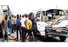 Groom's Legs Crushed And Wedding Guest Dies In Kwara Road Accident