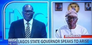 I made calls to the President twice yesterday but was told he wasn't in the office-Lagos Gov Sanwo Olu