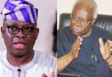 Immediate Past Governor Of Ekiti State Ayodele Fayose Accuses Bode George And Makinde For Trying To Kill Him Like Bola Ige
