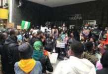 New York ENDSARS Protesters Demands For Transparency In SARS Disbandment