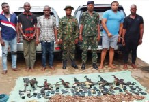 Police Intelligence Response Team Arrests Ex-soldiers And Others For Robbery