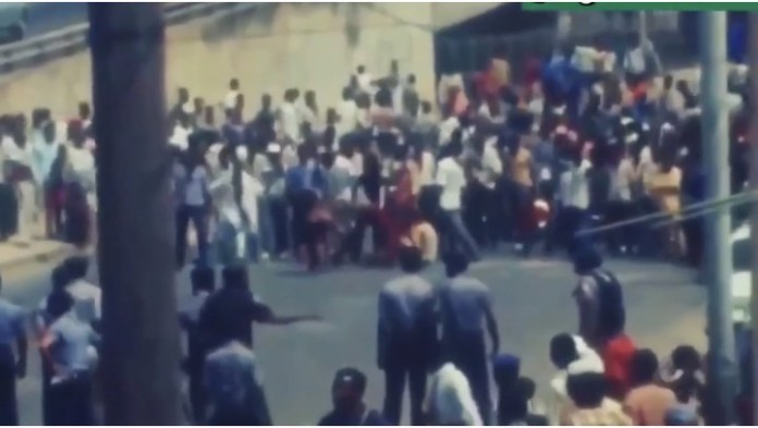 Video Of 1986 End Police Brutality Protest In Lagos