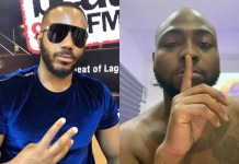 Video Of Davido And Kiddwaya Shocked After Sighting A Brand New White Lamborghini Aventador Parked Inbetween Their Cars By A Boy