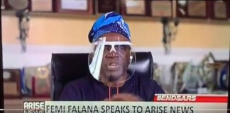 Video Of Popular Nigerian Lawyer Femi Falana Blasting Nigerian Politicians