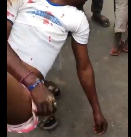 Video Of SUV That Rams Into EndSARS Protesters In Lagos And Kills 2 People Living Others Injured