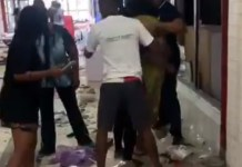 Video Showing Owners Of Looted Shops At Surulere Mall Cry As They Count Losses