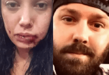 A man Benjamin Fancher beats up a woman and pulls a gun on her because their date cost too much