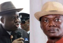 A seven man panel of the Supreme Court affirmed Douye Diri as the duly elected Governor of Bayelsa State