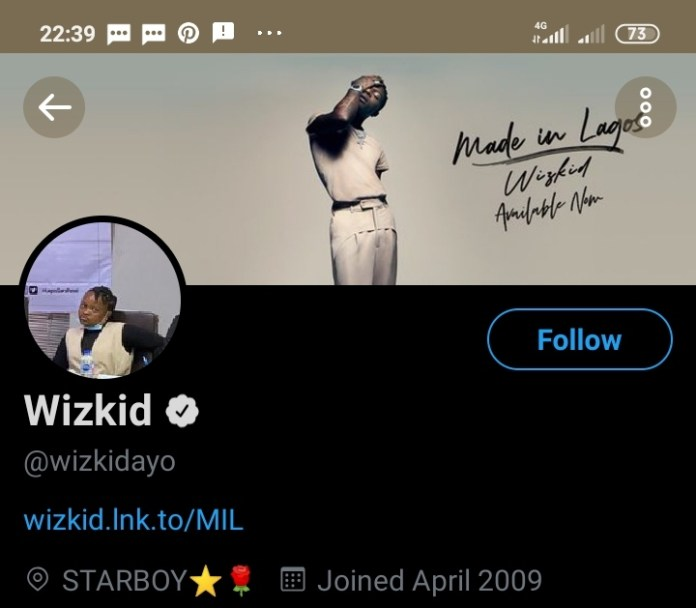 EndSARS Protester Savvy Rinu Photo Used As Profile Picture On Twitter By Wizkid
