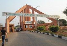 Enugu State University of Science and Technology ESUT To Defy ASUU And Fixes Exam For November 30