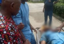 Father Cries Uncontrollably On Seeing The Body Of His Son Gospel Gbaraka Shot Dead By Police In Rivers State