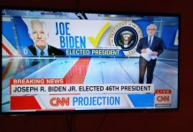 Joe Biden Wins The US Presidential Election 2020